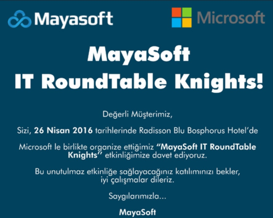 Mayasoft IT RoundTable Knights